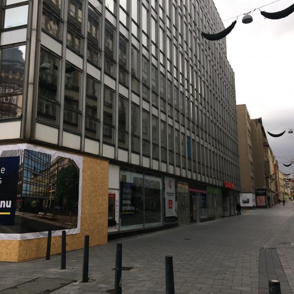 KOBLIŽNÁ - okolí obchodního domu Centrum